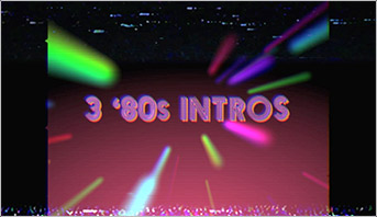 80s Intros for After Effects