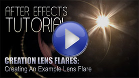 Creation Lens Flares for After Effects